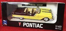 New-Ray Città Navetta ~1955 Pontiac Starchief ~ 1:43 Scala Modellino Replica (
