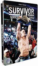 WWE/WWF Survivor Series 2008 Limited Edition SteelBook DVD  JBL MVP BRAND NEW+