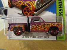 Hot Wheels '78 Dodge Lil Red Express Pickup!