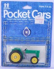 Tomica Pocket Cars #61-92 Green&Yellow Farm Tractor MOC 1:42