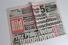 BILDzeitung 07.09.1981 September 7.9.1981 Geschenk 39. 40. 41. 42. Geburtstag