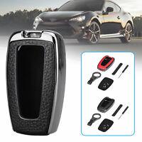 For Toyota Camry CHR RAV4 2018-2019 Smart Car Key Leather Case Cover Key Holder