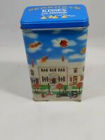 Vintage Collectable Hershey's Kisses With Almounds Tin Hometown Series #6