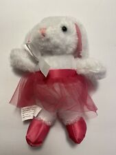 "Barbie In The Pink Shoes Ballerina Bunny (Mattel 5"" Stuffed Plush)"