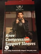 NEW Sports Knee Compression Sleeve Support  XX-Large Mava