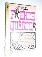 * THE FRENCH QUARTER by HERBERT ASBURY * UK POST £3.25* PAPERBACK* POCKET BOOKS*