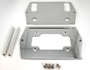 Optima Group 35/75 Battery Tray CNC Chrome Billet Smooth Top Hot Rod