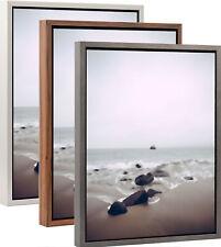 Schattenfugenrahmen Lisa Holz MDF Rahmen ohne Glas für Keilrahmen Leinwand Bild