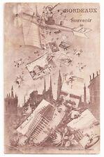 Bordeaux France Souvenir Marcel Del Boy Antique Postcard