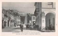 PATRAS, GREECE, RUE GEORGES II  & RUE ECHELONNEE, REAL PHOTO PC c 1920-30's