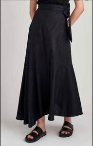 Jac + Jack Melrose Skirt in Black 8