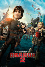 """HOW TO TRAIN YOUR DRAGON 2 - MOVIE POSTER (REGULAR STYLE) (SIZE: 24"""" x 36"""")"""
