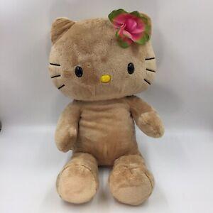 Build A Bear Sunkissed Tan Hello Kitty Tropical Hawaiian Flower BAB No Outfit