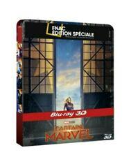 Captain Marvel blu ray 3D Steelbook Fnac neuf
