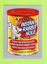 "2017 TOPPS WACKY PACKAGES 50TH ""SILVER BORDER"" ACME INSTANT RABBIT HOLE #29/50"