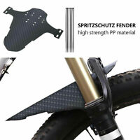 2pcs Cycling MTB Mountain Bike Bicycle Front Rear Mud Guards Mudguard Fenders