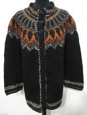 Markenlose Damen-Strickjacken mit Norweger-Muster