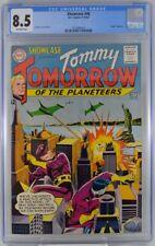 Showcase #46 CGC 8.5 1963 Tommy Tomorrow