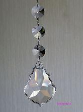 SUN inosservato appendere cristallo prisma ARCOBALENO feng shui MOBILE SCACCIAPENSIERI Xmas vendita
