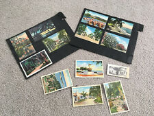 Lot of 17 Linen Postcards MIAMI OLD FLORIDA KEYS SPANISH RIVIERA JACKSONVILLE