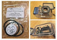 Junta tórica y grasa de Silicona Kit Para Canon wp-dc70 Buceo Carcasa submarina caso