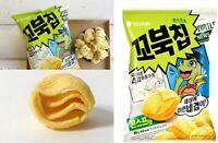 Korean ORION Turtle Chip Snack Sweet Corn Soup Flavor GGOBOK 3D Shells