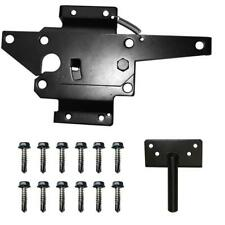 STAINLESS STEEL VINYL FENCE GATE LATCH BLACK WHITE OR WOOD FENCE GATE