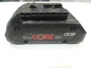 BOSCH ProCORE Battery 18V 4 4.0 Ah