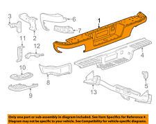 GM OEM Rear-Bumper 22900981