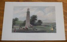 1843 Antique COLOR Print///THE LANTERN OF DIOGONES