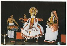 (82120) Postcard India Kerala Kathakali Dance - un-posted