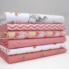 FQ Paquet - Princesse Kate - Miaou Kitty Chat Lot de 6 - Quart - Tissu Coton Pat