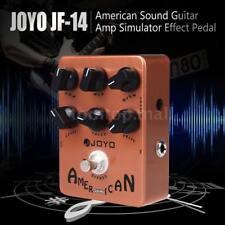 JOYO JF-14 American Sound Guitar Amp Simulator Effect Pedal Brown Tool