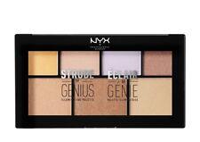 NYX Professional MakeUp STROBE OF GENIUS Illuminating Palette 100% Authentic