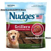 Nudges Wholesome Dog Treats, Steak Grillers (48 oz.), SEALED!!