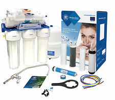 AquaFilter 6 Stage Reverse Osmosis System 75GPD for drinking water