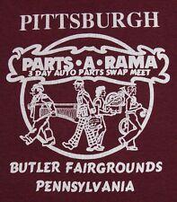 S * thin vtg 80s Pittsburgh Auto Parts A Rama t shirt * pennsylvania * 72.81
