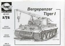 Planet Models 1:72 German Bergepanzer Tiger I Recovery Vehicle Resin Kit #MV003