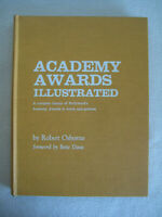 Vtg Book Histroy Of Hollywood Academy Awards Illustrated Oscars In Pictures