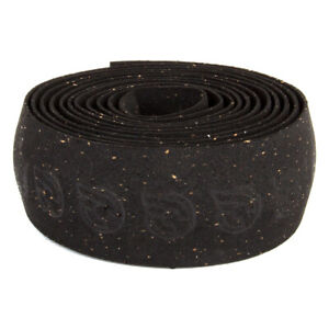 Cinelli Cork Cycling Handlebar Grip Tape Black