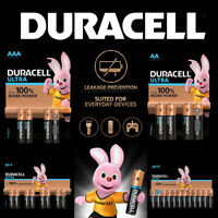 Duracell Ultra Power AA AAA Alkaline Batteries LR03 LR6 2029 Expiry Free UK P&P