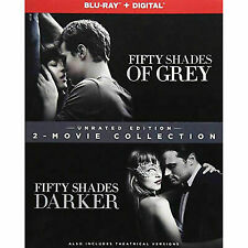 Fifty Shades of Grey/Fifty Shades Darker: 2-Movie Collection (Blu-ray Disc,...