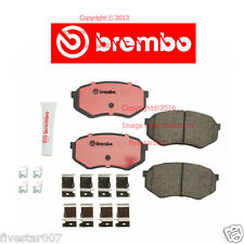 brembo Front Disc Brake Pad Set for Cars with Two Wheel Drive for Toyota Tacoma