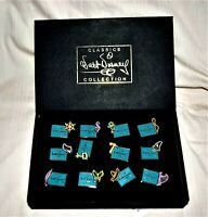Disney WDCC 10th Anniversary Production Marks Pins Set-12