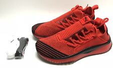 Puma X FUBU Tsugi Jun Black Red 367440-01 Mens Size 9 Shoes High Risk