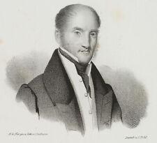 LUTHERER, Portrait d. Finanzraths K. S. Geh., sächs. Ständeversamml., 19. Jh.