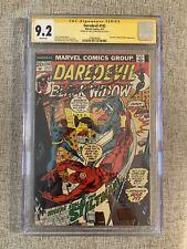Daredevil #102 CGC 9.2 SS 1st Chris Claremont comics work