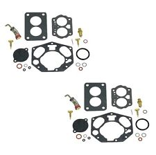 2 For Porsche 356 356A 356B 356C 356SC 50-65 Carburetor Repair Kit Set Walker
