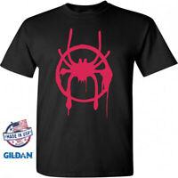 Marvel SpiderMan Into The Spider-Verse Miles Morales Costume Mens T-Shirt S -2XL
