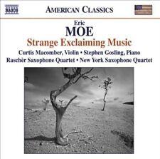 Moe^Macomber^Rascher Saxophone Quartet - Strange Exclaiming Music [CD]
